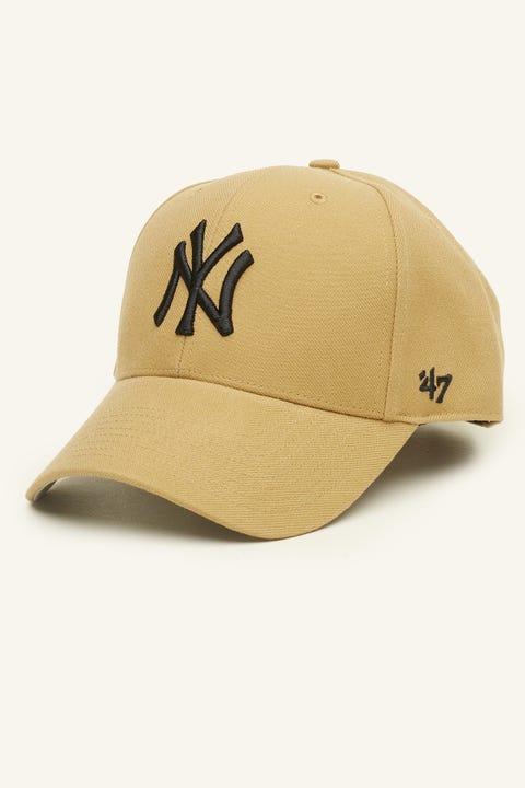 47 Brand MVP NY Yankees Tan/Black