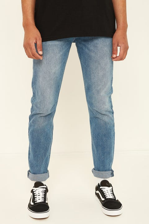 LEE L-Two Slim Straight Resolve Blue