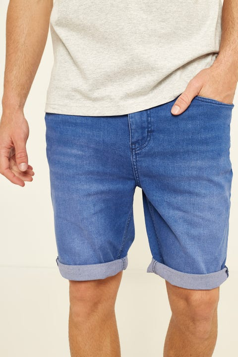 LEE Z-Roadie Short Punchy Blue