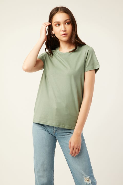 AS Colour Maple Tee Sage