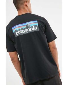 Patagonia M's P-6 Logo Tee Black