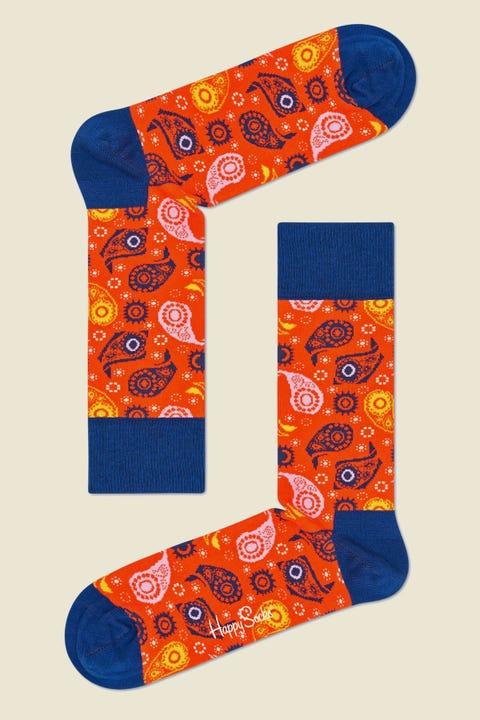 HAPPY SOCKS x Wiz Khalifa House In The Hills Sock Orange Multi