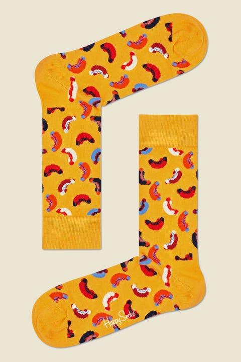 Happy Socks Hotdog Sock Mustard