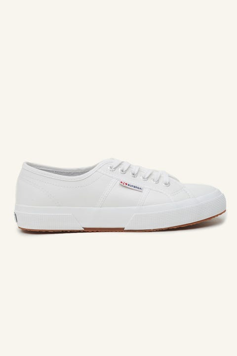 SUPERGA 2750 Cotu Leather White