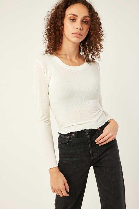 Luvalot Clothing Gigi Long Sleeve White