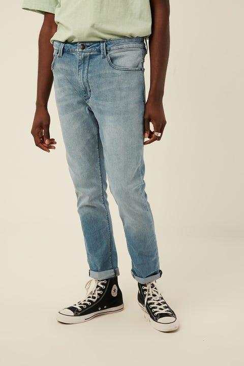 Abrand A Dropped Slim Jean Rebel Blue