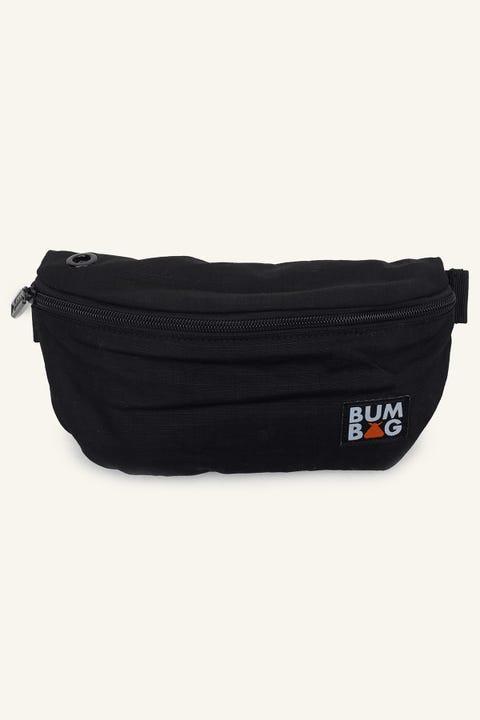 BUMBAG CO Baseline Pouch Black/Orange Nylon