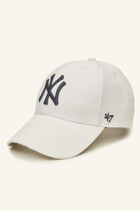47 Brand MVP NY Yankees White/Navy
