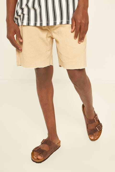 BARNEY COOLS B.Relaxed Cord Short Tan