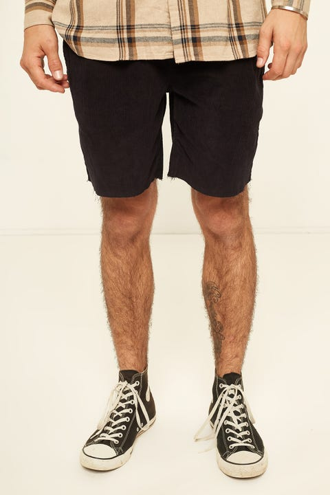 BARNEY COOLS B.Relaxed Cord Short Black