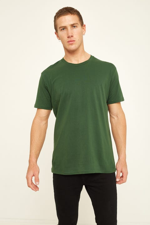 AS Colour Staple Tee Forest Green