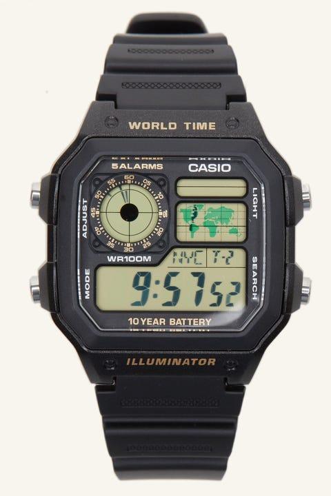 Casio AE-1200 Black/Gold