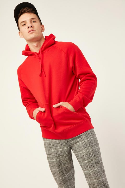 AS COLOUR Supply Hood Red