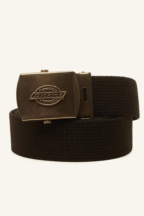 DICKIES Cotton Web Belt Black