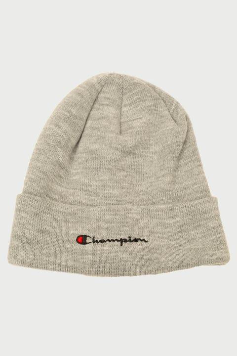Champion C Life Script Beanie Oxford Grey