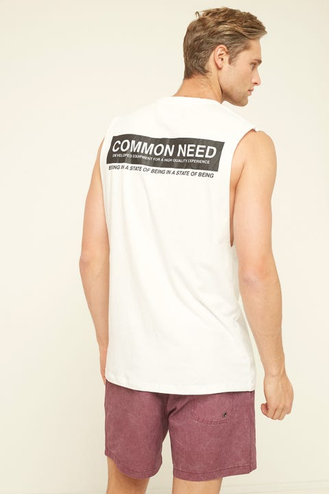 COMMON NEED Quality Supply Muscle White