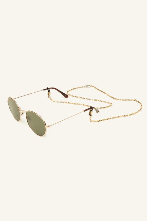 Icon Brand Cannes Sunglasses Chain Gold