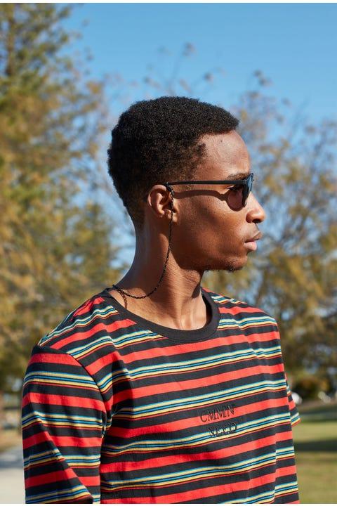 Icon Brand Junction Sunglasses Chain Black