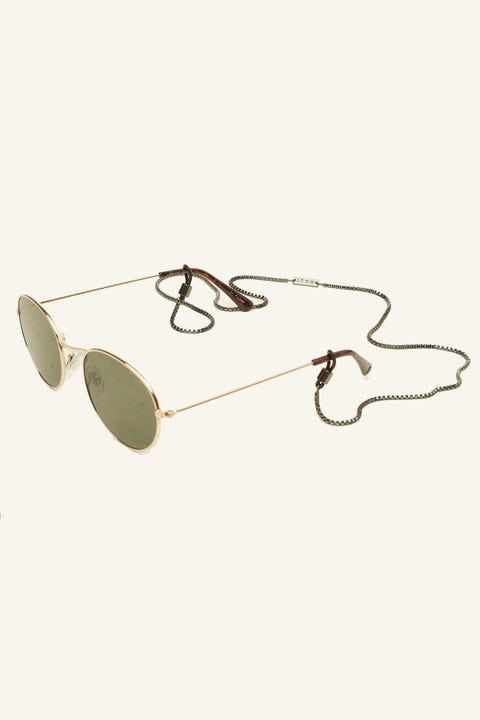 ICON BRAND La Brea Sunglasses Chain Gunmetal