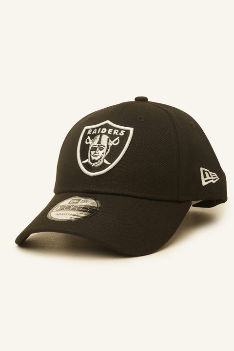 New Era 9Forty Oakland Raiders Snapback Black/White