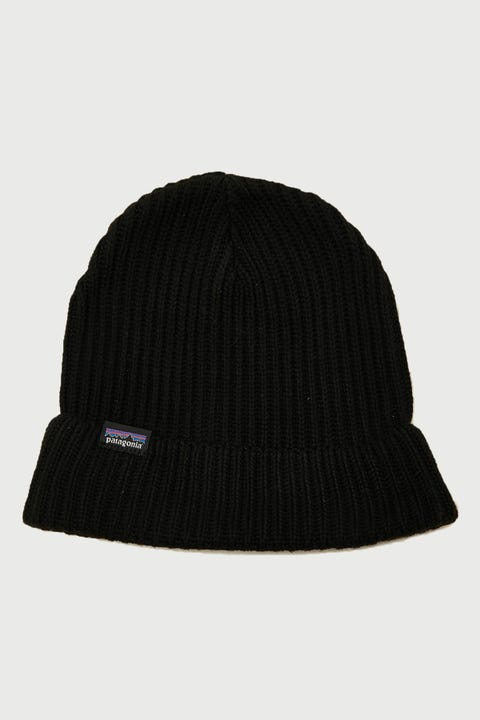Patagonia Fisherman's Rolled Beanie Black