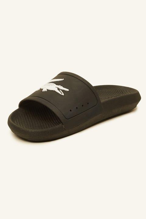 LACOSTE Croco Slide 119 Black/White