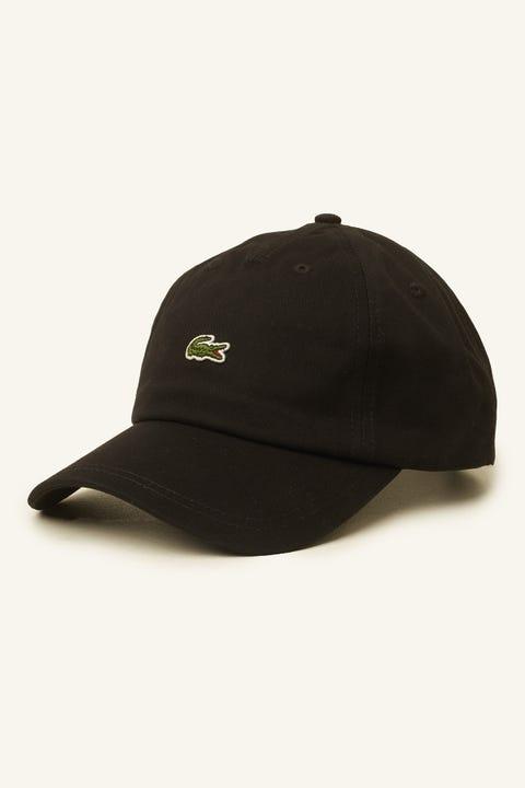 Lacoste Centre Croc Cap Black