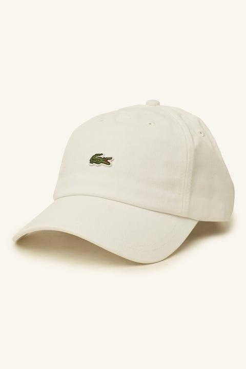 Lacoste Centre Croc Cap White
