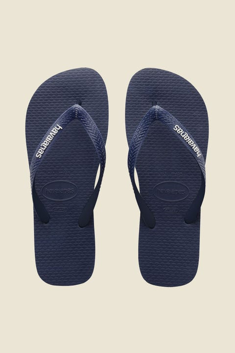 Havaianas Rubber Logo Mix Navy Blue/White