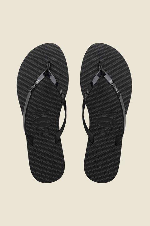 HAVAIANAS You Metallic Thong Black
