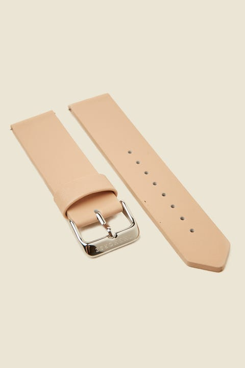 THE HORSE Original Watch Band Vegetable Tan/Silver