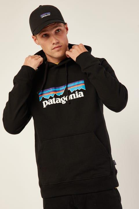 Patagonia M's P-6 Logo Hoodie Black