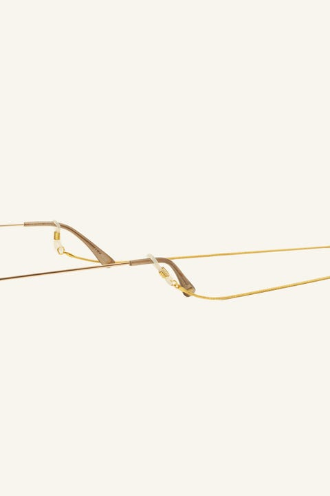 Le Specs Sunglasses Chain Fine Gold