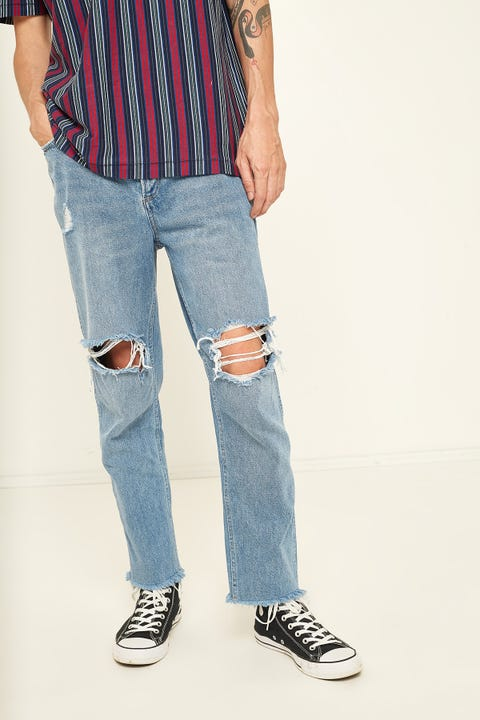 WRANGLER Spencer Crop Jean Glory Days Blue