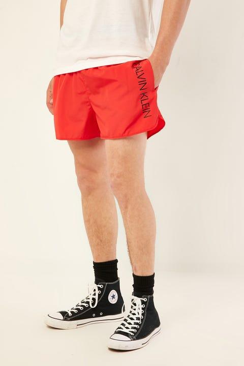 CALVIN KLEIN Short Runner Logo Short Red