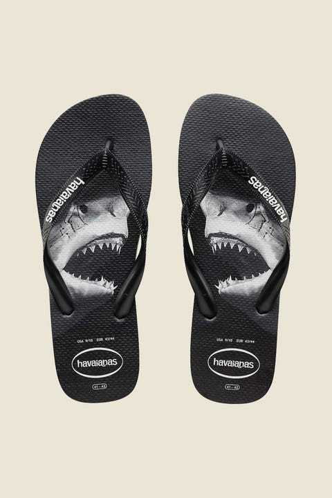 Havaianas Photoprint Thong Black Grey