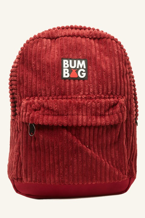 BUMBAG CO Scout Big Willie Maroon Cord/Multi Sherpa