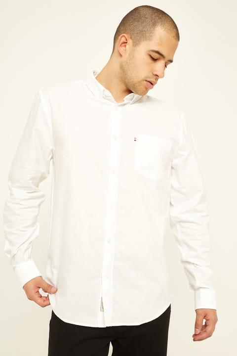 The Academy Brand Dillon Oxford Shirt White