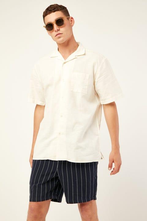 THE ACADEMY BRAND Marshal Shirt Milk White