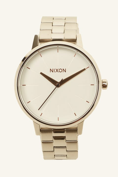 NIXON Kensington Silver/White/Rose Gold