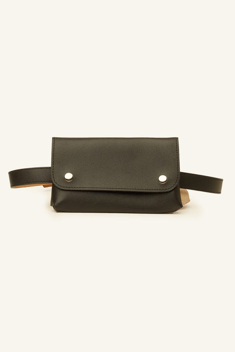 TOKEN Messenger Belt Bag Black