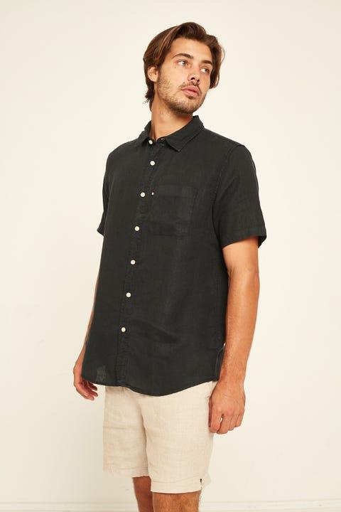 Academy Brand Hampton SS Shirt Black