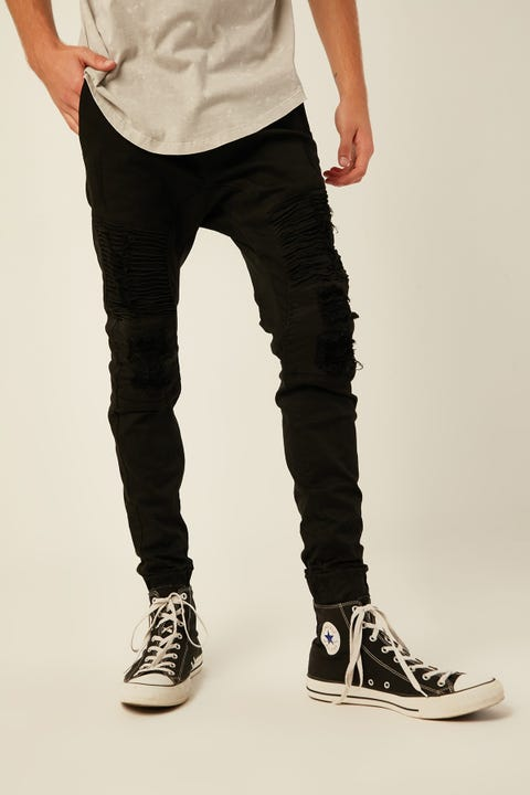 Kiss Chacey Alpha Jogger Jean Jet Black