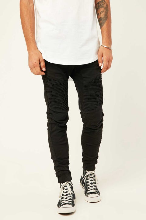 KISS CHACEY Zeppelin Denim Jogger Black Clean