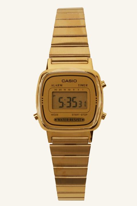 CASIO LA670WGA Digital Watch Gold/Gold