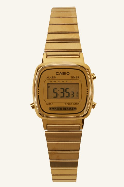 Casio LA670WGA Digital Watch Gold/Gold