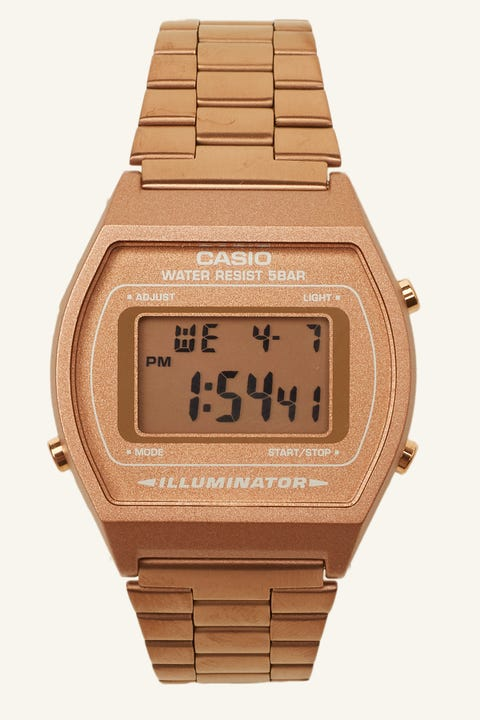 Casio B640WC Digital Watch Rose Gold