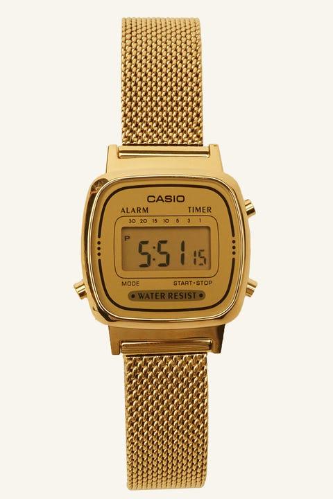 CASIO LA670WEMY Milanese Gold