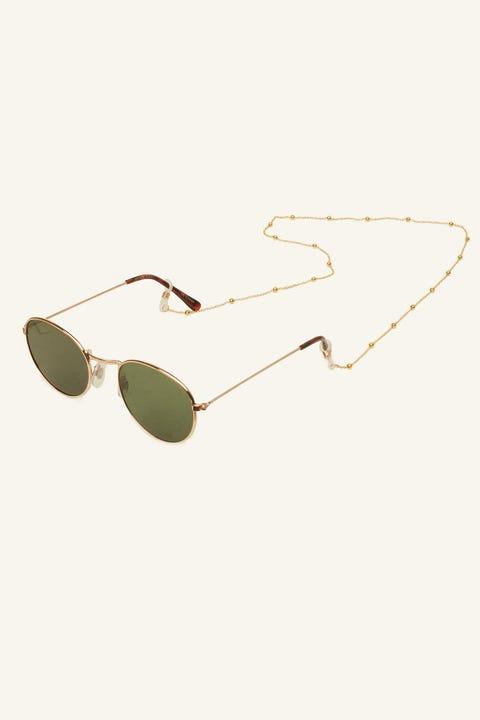 TOKEN Glasses Ball Chain Gold
