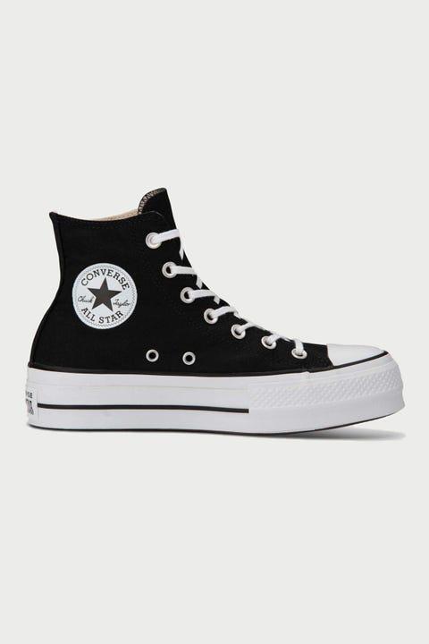 Converse Womens CT Lift Hi Black/White